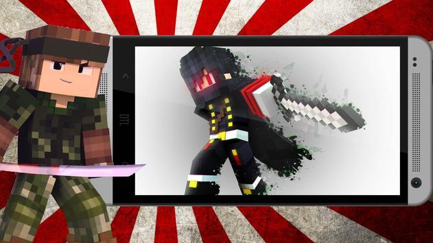 Ninja Skins For Minecraft APK Download Free Entertainment APP For - Ninja skins fur minecraft