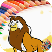 Coloring Pages Jungle Animals icon