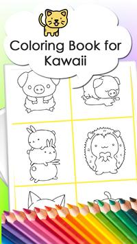 Coloring book for Kawaii screenshot 1