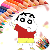 Coloring Pages for Shin Chan icon