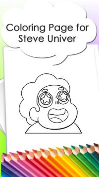Coloring Pages for Steve poster