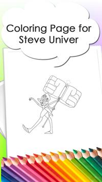 Coloring Pages for Steve apk screenshot