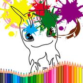 Coloring Book For Slugterra icon