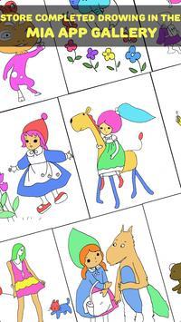Coloring Book For Mia screenshot 1