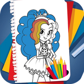Coloring Book for Equestria Girls icon