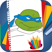 Coloring Book for Ninja Turtles icon