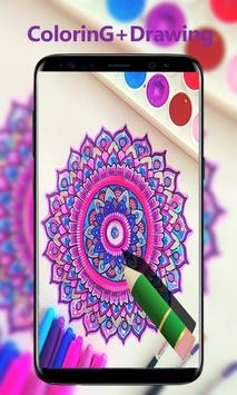 Mandala Coloring Book Adults apk screenshot