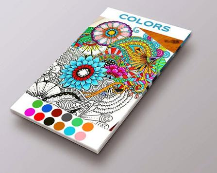Mandala Coloring Book Adults poster