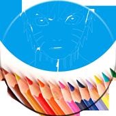 Coloring Book For Naruto icon