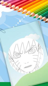 Coloring Book For Naruto poster