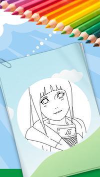 Coloring Book For Naruto apk screenshot
