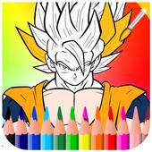 Coloring Book for Saiyan icon