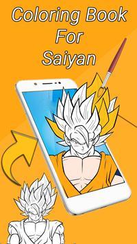 Coloring Book for Saiyan screenshot 1
