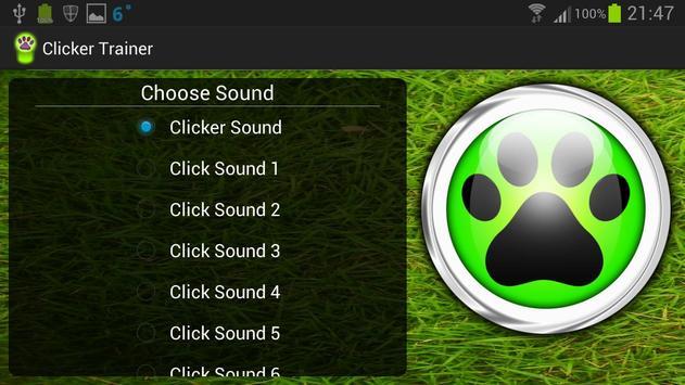 Clicker Trainer (Free) apk screenshot