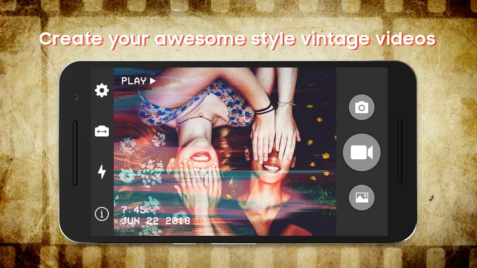 Camcorder – VHS Home Effects 1998 for Android - APK Download