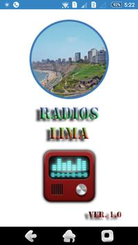 Radios Lima poster