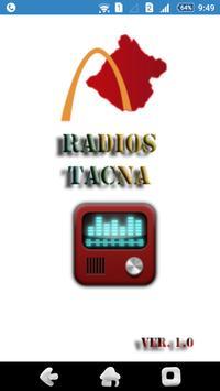 Radios Tacna poster