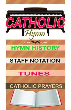 catholic hymn book poster