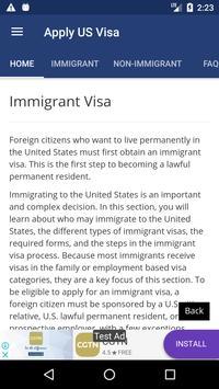 Apply US Visa screenshot 9