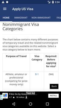 Apply US Visa screenshot 2