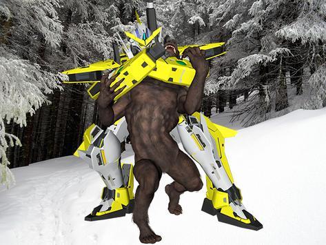 Werewolf Robot Ice World War poster