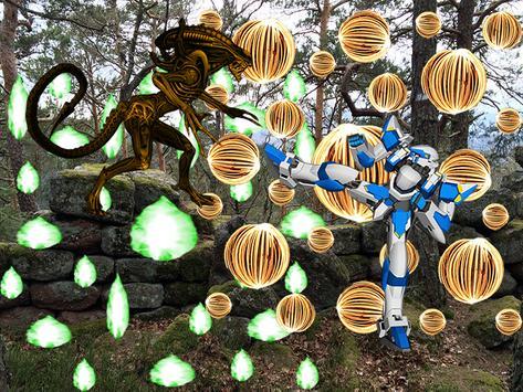 Alien VS Robot War apk screenshot
