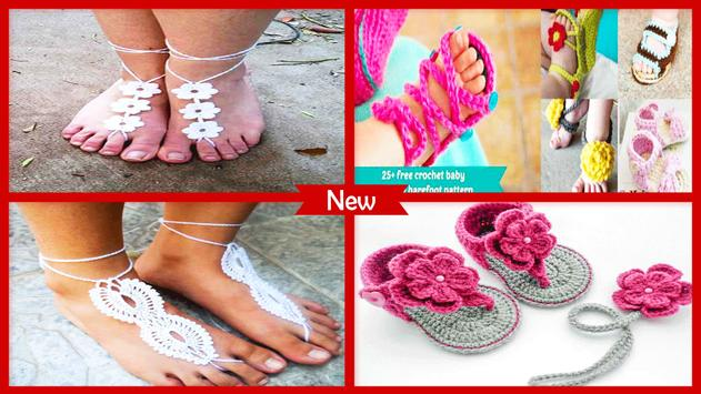Awesome Crochet Baby Sandals Free Pattern Apk Download Free Beauty