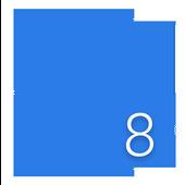 Finchpeach WP Metro 8 Launcher icon