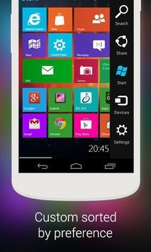 Finchpeach WP Metro 8 Launcher apk screenshot