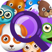 Animal Hidden Object Games Seek and Find Adventure icon