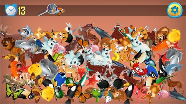 Animal Hidden Object Games Seek and Find Adventure apk screenshot