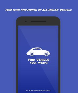 Find Year and Month of Vehicle poster