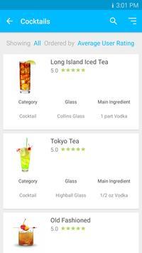 Cocktail Recipes Free Drink DB screenshot 1