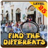 Find Differences People lv 25 icon
