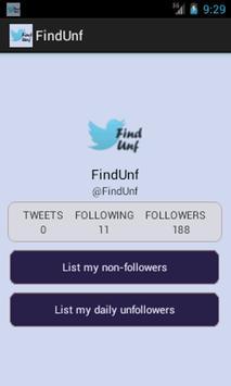 FindUnf apk screenshot