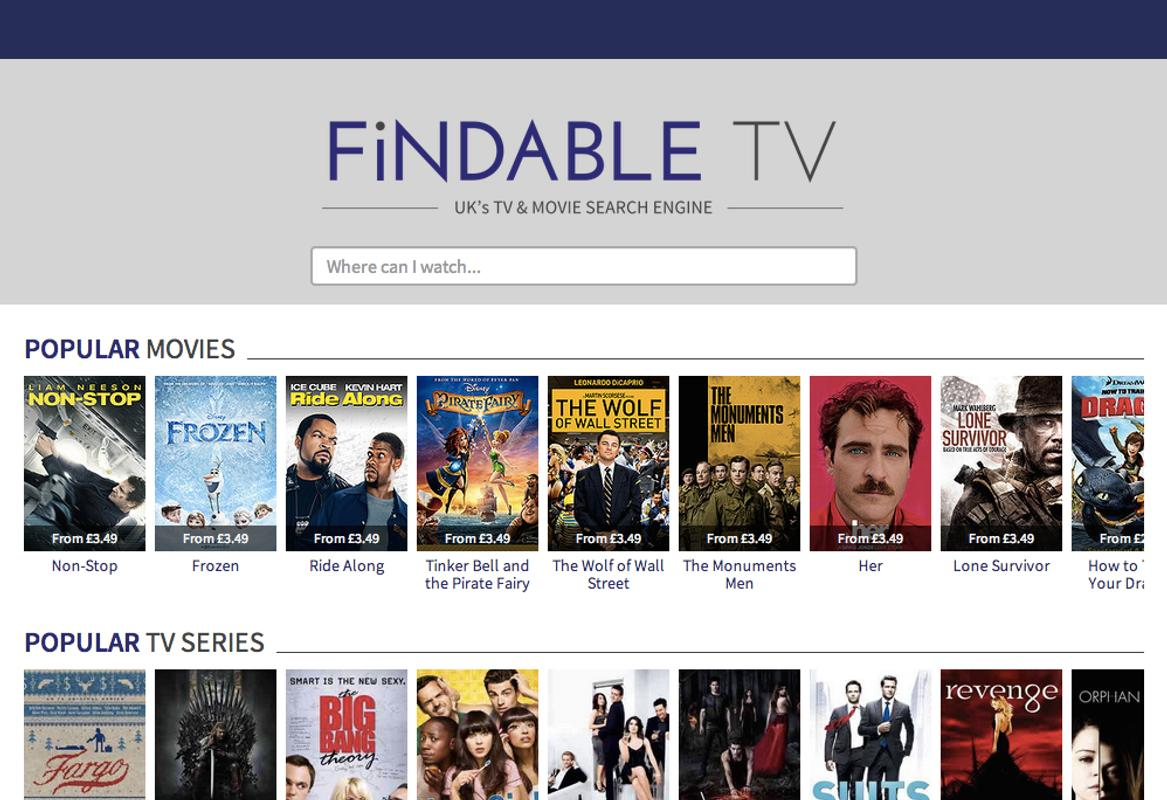 Findable.TV: TV & Movie Search APK Download - Free Entertainment APP ...