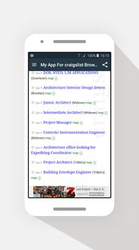 Browser For Craigslist – 2017 apk screenshot