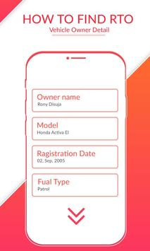 How to Find RTO Vehicle Owner Detail screenshot 6