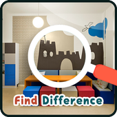 Find Differences : Kid Room icon