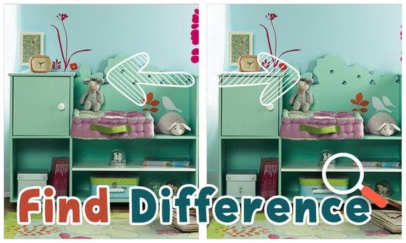 Find Differences : Kid Room screenshot 1