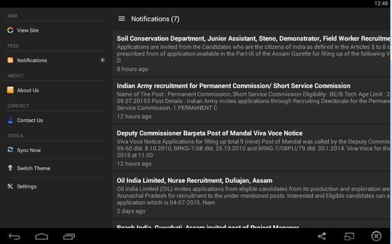 Findnewjob.in apk screenshot