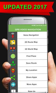 Voice Map Route Direction: Earth Map Guide apk screenshot