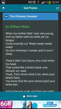 17 Sad Poems (English) screenshot 2