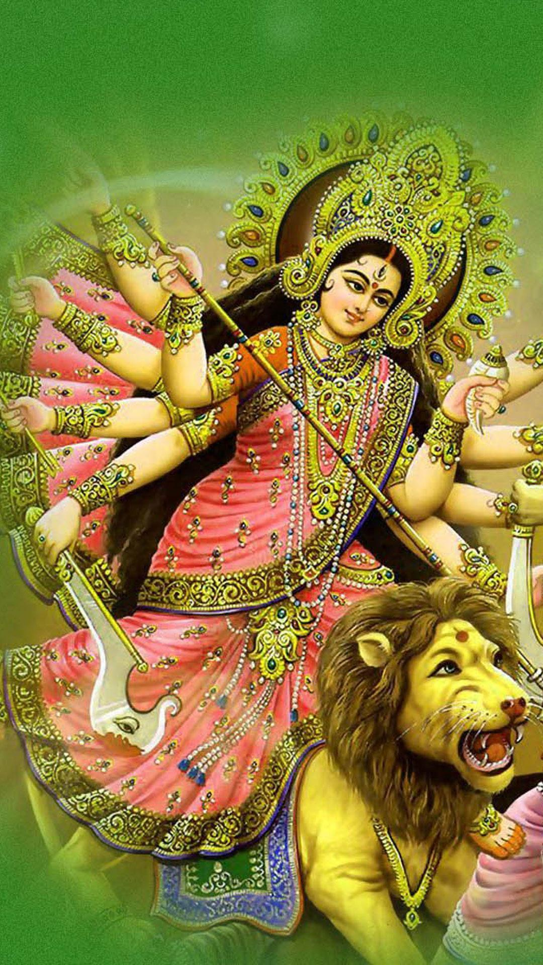 maa durga wallpapers for android - apk download