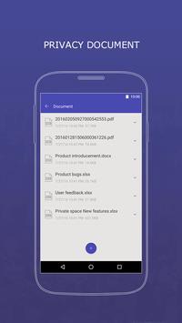 Private Space-fingerprint lock apk screenshot
