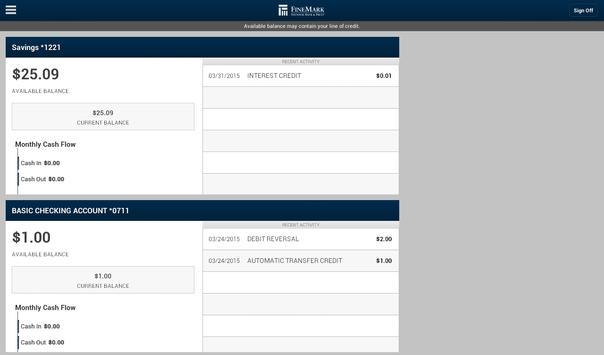 FineMark Business Tablet screenshot 2