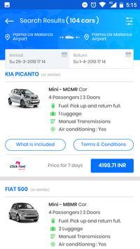 Phone app - Rental Car Group screenshot 2