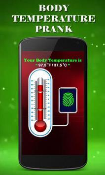 Finger Body Temperature Prank poster