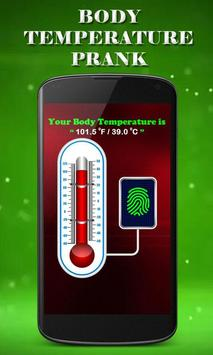 Finger Body Temperature Prank screenshot 9