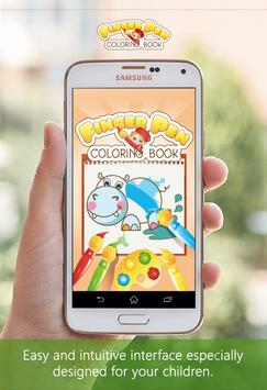 FingerPen 🎨 Coloring book for kids apk screenshot